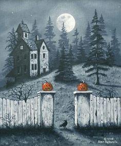 "halloweenshit: "" Art by Alan Dellascio. www.art2zombies.com. Instagram: @painteral613 """
