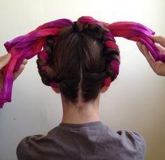 How to: Make Frida-Style Braids