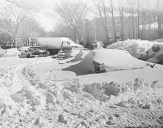 Snow snow and more snow  California Avenue, Chicago, 1967   Howard B Anderson   via: Chicago Past