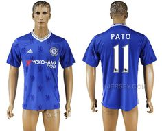 http://www.xjersey.com/201617-chelsea-11-pato-home-thailand-soccer-jersey.html 2016-17 CHELSEA 11 PATO HOME THAILAND SOCCER JERSEY Only 33.11€ , Free Shipping!