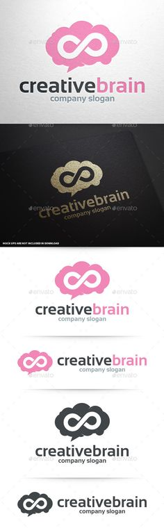 Creative Brain Logo Template #vector #design #logo #template #agency #creativity #brain #infinity #creative #human #design #logo >> For sale at #GraphicRiver <<