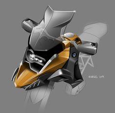 R1200GS sketch / BMW