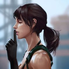 Metal Gear Solid Quiet, Metal Gear Solid Series, Mgs V, Pin Up Pictures, Metal Gear Rising, Kojima Productions, Gear Art, Video Game Art, Video Games