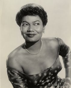 "detroitlib:  Happy Birthday Pearl Bailey! (March 29, 1918 – August 17, 1990)American actress and singer. After appearing in vaudeville, she made her Broadway debut in St. Louis Woman in 1946. She won a Tony Award for the title role in the all-black production of Hello, Dolly! in 1968. In 1986, she won a Daytime Emmy award for her performance as a fairy godmother in the ABC Afterschool Special, Cindy Eller: A Modern Fairy Tale. Her rendition of ""Takes Two to Tango"" hit the top ten in 1952…"