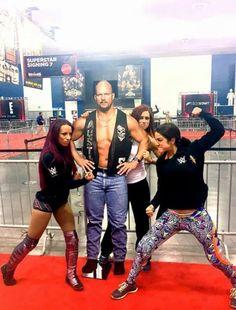 Bayley, Sasha Bank, Becky Lynch