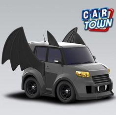 El murciélago está de vuelta! ¡Feliz Halloween! Obtener esta edición especial Bat Scion xB su garaje de hoy, sólo estará disponible por tiempo limitado.    31/10/2012