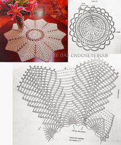 Luciana Ponzo Criações em Crochê: Crochê também na parede