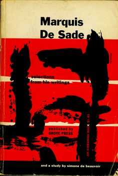 the marquis de sade an essay by simone de beauvoir Simone de beauvoir was born the oldest child of an upper middle-class family her father, georges de beauvoir, was a lawyer by profession beauvoir was an outstanding student she did her postgraduate work at the école normale superieure, the top postgraduate program in france, where.