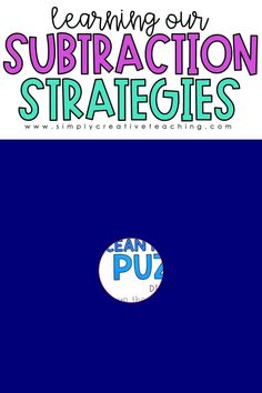These games and activities for teaching mental math subtraction strategies are perfect for first grade and 2nd grade classrooms. Students will play these games to work on counting up to subtract, count back to subtract, friend of 10, subtraction using doubles, and more! Many of these strategies include thinking addition to subtract. These fact fluency games will help students with subtraction within 10 and subtraction within 20.