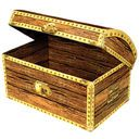"Shop for Treasure Chest like 12"" Treasure Chest, Plastic Pirate's Chest, Red and Black Treasure Chest on Century Novelty"