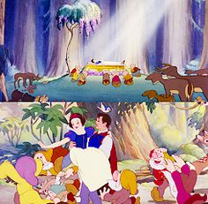 Love conquers all in Snow White and the Seven Dwarfs