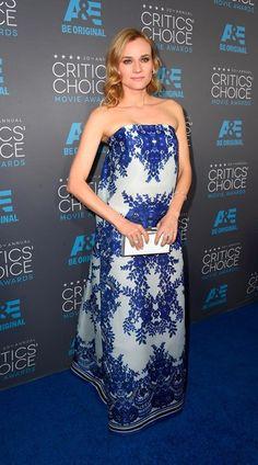Critic's Choice Awards 2015 - DIANE KRUGER in NAEEM KHAN