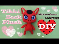 Here is the very much requested Tikki sock plush! ^_^ I already made Plagg, and I'm going to make Nooroo next! I am super excited for season 2 of Miraculous ...