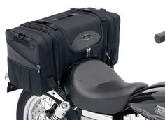 Saddlemen TS3200DE motorcycle seat bag luggage. Designed to attach to most motorcycle seats or luggage racks. Your price $131.95 with Free Shipping!