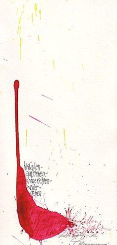 Dies ist die Seite von Sigrid Artmann, Schriftkünstlerin und Kalligrafin aus Ludwigsburg.