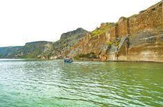 Euphrates river, Gaziantep province, Turkey
