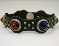 1954 Leather Vintage Motorcycle Cuff