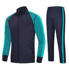 Mens Casual Sweatshirt Sweatpants Sports Football Stitching Color Quick-dry Sportwear Suit is provided by NewChic, having quanlity warrenty, mens sports tank tops are on hot sale. Custom Football, Sport Football, Mens Tracksuit Set, Casual Outfits, Men Casual, Track Suit Men, Sports Hoodies, Athleisure Fashion, Fashion Seasons
