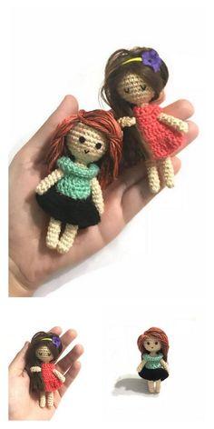 Amigurumi Pink Little Layd Free Pattern – Amigurumi Free Patterns And Tutorials Doll Amigurumi Free Pattern, Crochet Dolls Free Patterns, Crochet Doll Pattern, Amigurumi Doll, Crochet Bear, Crochet Toys, Free Crochet, Crochet Doll Tutorial, Amigurumi Tutorial