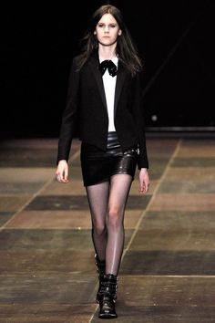 Saint Laurent Paris - Pasarela