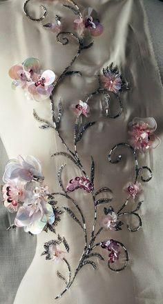 Broderies Haute Couture - Détails
