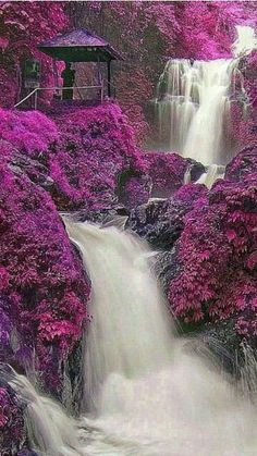 """Beauty Nature on """"Beautiful waterfalls"""" Beautiful Waterfalls, Beautiful Landscapes, Beautiful Images, Landscape Photography, Nature Photography, Fantasy Landscape, Nature Scenes, Nature Wallpaper, Nature Pictures"""