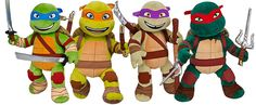 Build-A-Bear Has Teenage Mutant Ninja Turtle Plushes...  *gets in car, slams door, and peels out*