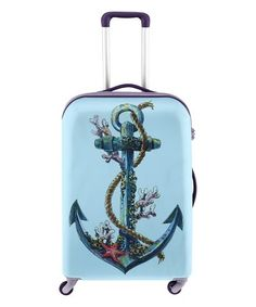 52188491104f Another great find on  zulily! Underwater Anchor Luggage Cover  zulilyfinds  Anchor Tattoo Design