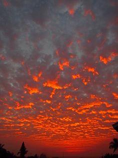amazing sunset! 12-7-12 by bluewavechris