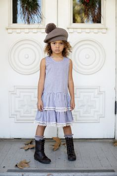 aw15: Every great collection has one standout piece. At Blu Pony Vintage it's the double-tiered, cotton dress that works as well solo as it does as a layering item. www.bluponyvintage.com (editor's pick)
