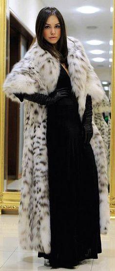 ... Lynx Fur Coat