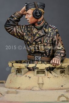 We had seen Man-Jin Kim's artwork of some new Alpine Miniatures SS Panzer Commanders on the way and we thought the release would be soo. Ww2 Uniforms, German Uniforms, Military Modelling, Ww2 Tanks, Figure Model, Panzer, Hobbies And Crafts, Studio Ghibli, Scale Models