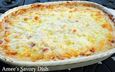 Amee's Savory Dish: Cheesy Ham & Hashbrown Casserole