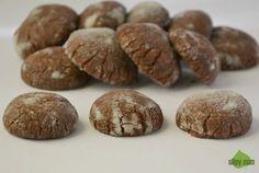 Kaštanové crinkles jsou přirozeně bez lepku Příště si nezapomeň prosát mouku ;)