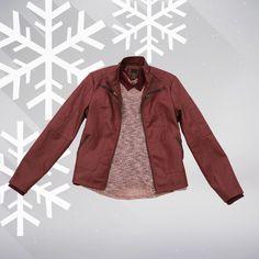 Con #Metropolis llenarás de estilo tu invierno. #winterfashion #jacket #burgundi