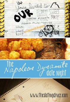 The Napoleon Dynamite group date night, lol