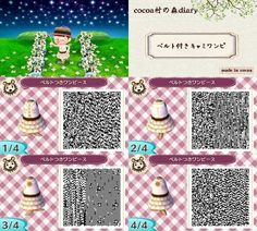 Animal Crossing New Leaf QR code - Classic outfit