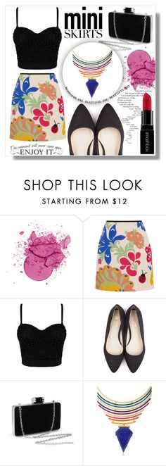 """""""Mini Me"""" by fashion-rebel-chic ❤ liked on Polyvore featuring Victoria, Victoria Beckham, Beyond Skin, Gemma Redux, Smashbox, miniskirts, Minime, polyvoreeditorial and polyvorecontest"""