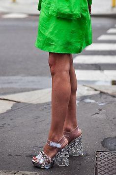 Prada Chandelier sandals.