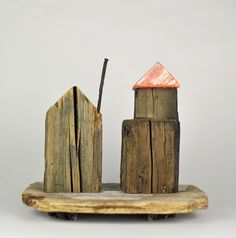 """HJB - Old Fence Posts to """"Little Houses"""" ;)"""