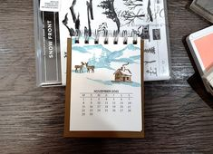 Kalender 2021 beim 3D Paper Trimmer Blog Hop Dezember 2020 - Thema: Willkommen 2021 3d Paper, Paper Crafts, Paper Trimmer, Heartfelt Creations, 9 And 10, Stampin Up, Craft Supplies, Blog, Create