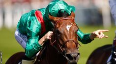 Christophe Soumillon rides Ervedya to victory in the Coronation Cup at Royal Ascot, 2015.