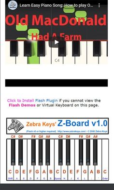 Easy Piano Songs for Beginners Piano Songs For Beginners, Easy Piano Songs, White Piano, Black Piano, Finger Exercises, Free Songs, Free Sheet Music, Piano Keys, Music For Kids