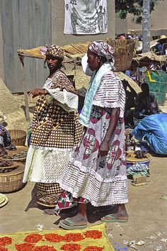Market Djenne Mali