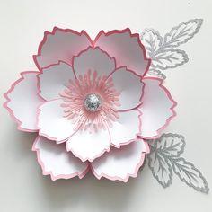 DIY Flower Template #7 Instant Downloadable File