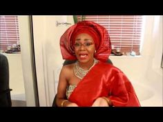 How to tie Gele: Bridal style II - YouTube How To Tie Gele, African Dress, African Outfits, Ethnic Hairstyles, Aso Ebi Styles, Headgear, Head Wraps, Bridal Style, African Fashion