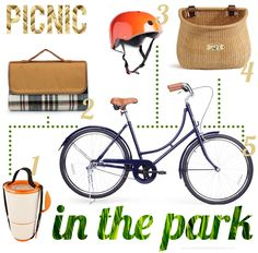 picnic via bike is the best.