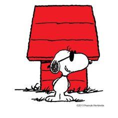Snoopy - Joe Cool...I'm home. I hope you had a great day! xoxoxo :)