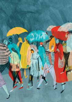 Selection of work by UK-based illustratorMouni Feddag. More images below.        Mouni Feddag's Website Mouni Feddag on Tumblr Mouni Feddag on Twitter Via Show Slow