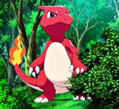 Charmeleon. The first pokemon Sofia caught with mareep's help